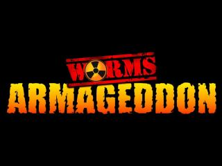 обои Worms Armageddon лого фото