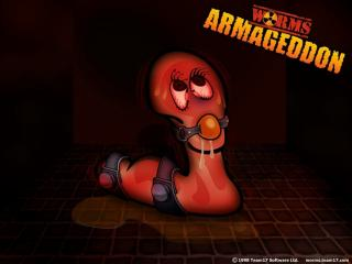 обои Worms Armageddon ужас фото
