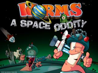 обои Worms: A Space Oddity фото