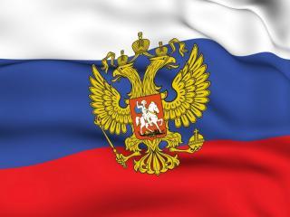 обои Герб,   флаг России фото