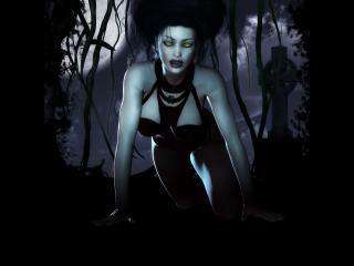 обои Вампирша на погосте фото