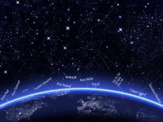обои Звездное небо фото