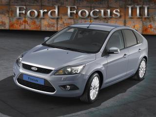 обои Форд фокус серый фото