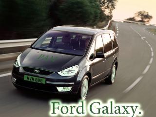 обои Ford Galaxy На дороге фото