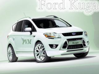 обои Ford Kuga - Белый фото