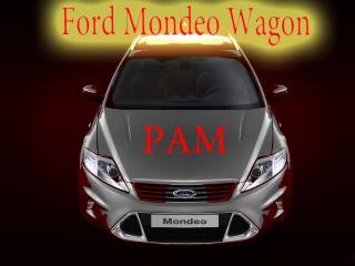обои Ford Mondeo Wagon цвета серебро фото