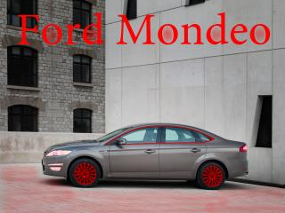 обои Ford Mondeo- с красными дисками фото