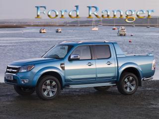 обои Ford Ranger  на фоне моря фото