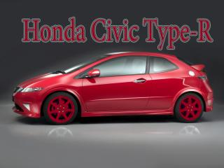 обои Honda Civic с красными дисками фото