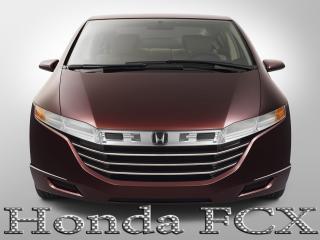 обои Honda FCX бордового цвета фото