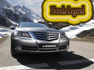 обои Honda Legend На фоне гор фото