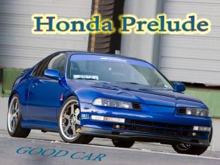обои Honda Prelude синего цвета  логотипами фото