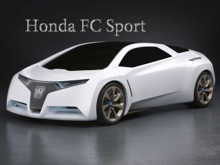 обои Honda FC Sport  белого цвета фото