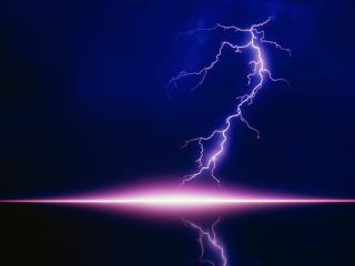 обои Мощная молния фото