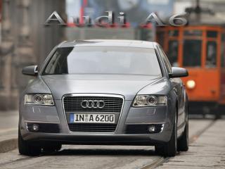 обои Audi A6 где то в Европе фото