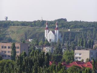 обои Бердянск вид с горы фото