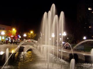 обои Бердянск фонтан в центре фото