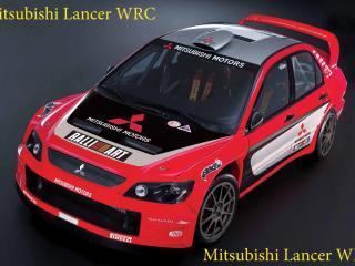 обои Mitsubishi Lancer WRC спорт кар фото