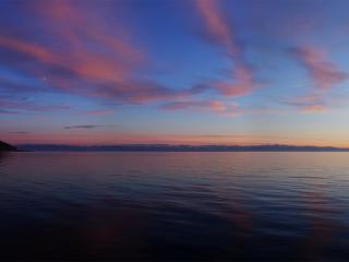 обои Вечернее море фото