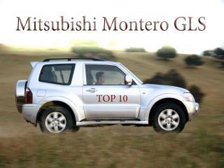 обои Mitsubishi Montero GLS за городом фото