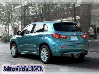 обои Mitsubishi RVR березового цвета фото