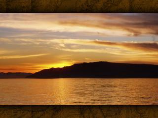 обои Вечерний залив фото