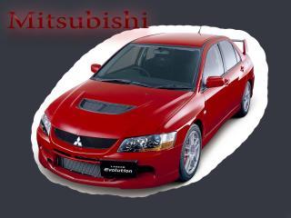 обои Mitsubishi выделена белым цветом фото