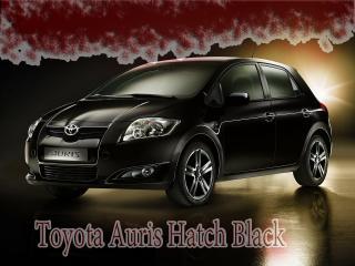 обои Toyota Auris Hatch Black пятна  сверху фото