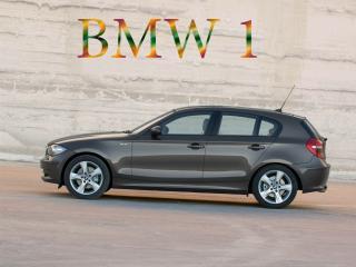 обои BMW вид сбоку фото