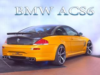 обои BMW ACS6 с логотипам в небе фото