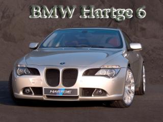 обои BMW Hartge 6 серебристого цвета фото