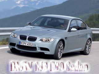 обои BMW M3 E90 Sedan с логотипам фото