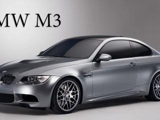 обои BMW M3 цвета серебра фото