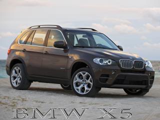 обои BMW X5 на фоне неба фото