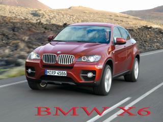 обои BMW X6 вид спереди фото