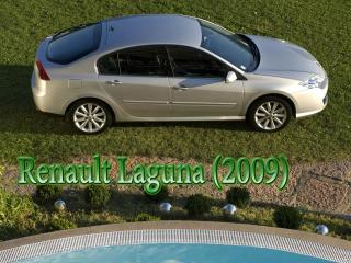 обои Renault Laguna (2009) с логотипом фото