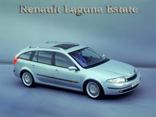 обои Renault Laguna Estate вид сбоку фото