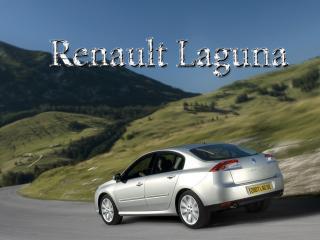 обои Renault Laguna в долине фото