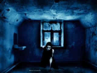 обои Темная комната фото