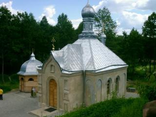 обои Купель Пустынского монастыря фото
