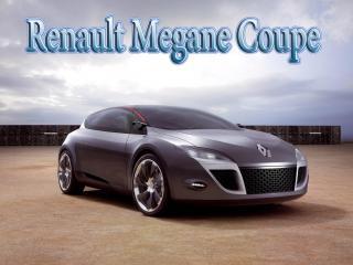 обои Renault Megane Coupe в пустыни фото