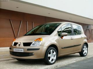 обои Renault Modus (2004) фото с 45 градусов фото