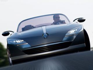 обои Renault Nepta вид спереди немного снизу фото