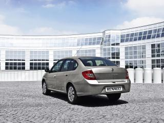 обои Renault Symbol вид сзади фото