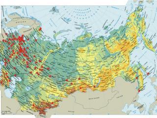 обои Карта СССР фото