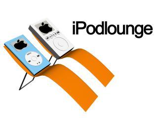 обои для рабочего стола: Ipod lounge