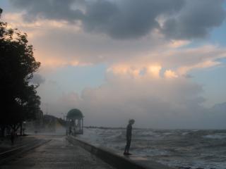 обои Начало шторма в Бердянске фото