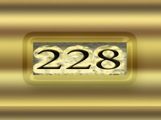 обои Цифры 228 фото