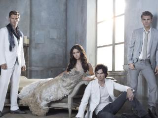 обои Герои The Vampire Diaries фото