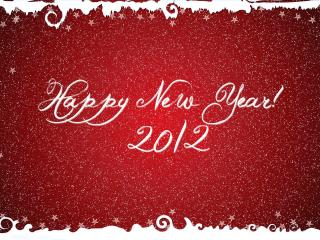 обои Happy new year 2012,   Новый Год фото